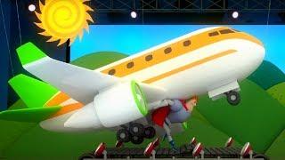 Аркадий Паровозов - Почему нужно выключать гаджеты при взлете самолета - мультфильм детям