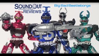 "Big Bad Beetleborgs - 5"" Beetleborgs Figures [Soundout"
