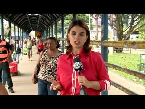 SBT Brasil (24/05/16) Greve dos rodoviários afeta mais de 1 milhão de pessoas em Belém