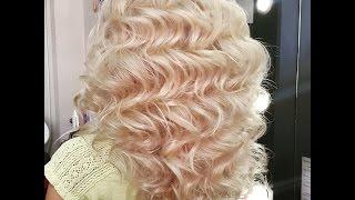 Голливудские локоны на длинный волос. Приглашение на курс