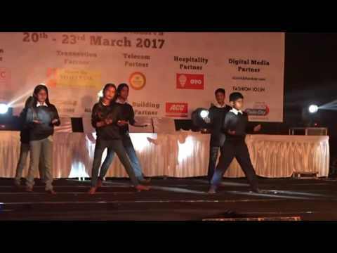 """Group dance by our students (slum children ) on song """"Maa"""" prepared by Rohit rawat"""