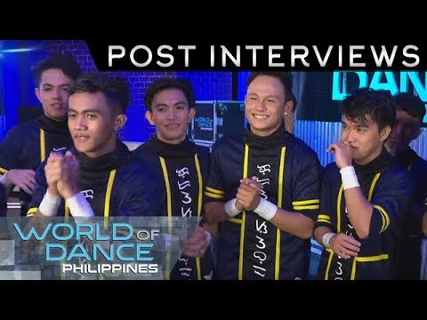 World Of Dance Philippines: Crossover | Post-Interview