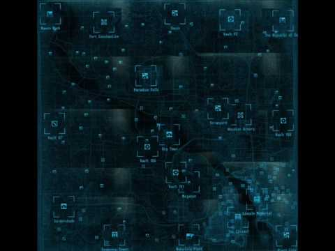 Fallout 3 Help - All map locations - YouTube