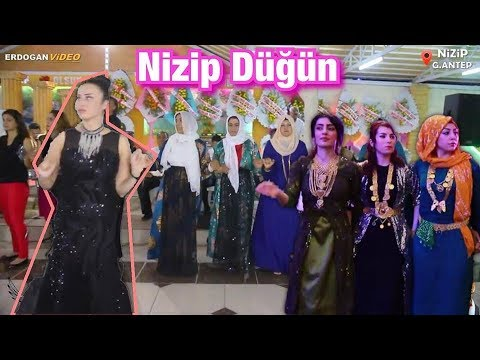 AVRUPALI NİZİPLİLER !! Harika Bir Nizip Kürt Düğünü # Asiye ve Metin # GRUP ERDOĞANLAR Production ®