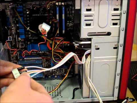 pc build series how to build a computer part 7 wiring everything rh youtube com pc case fan wiring diagram Old Computer Diagram