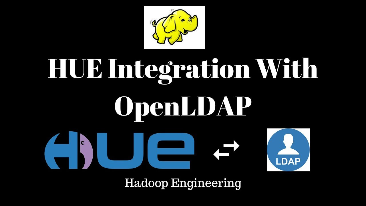 Integrating HUE with open LDAP Server