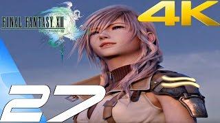 Final Fantasy XIII - Walkthrough Part 27 - Sulyya Springs & Palisades [4K 60FPS]