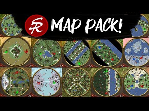 SR MAP PACK! 12 New Maps!!! & New League! | Age Of Empires III