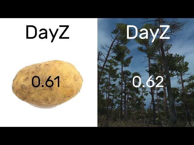 DayZ 0.61 Vs 0.62 -- Graphical Comparison