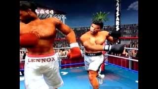 Knockout Kings 2002 versus mode