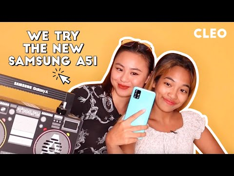 We Try The New Samsung Galaxy A51 and the #danceAwesome Challenge! | CLEO Malaysia