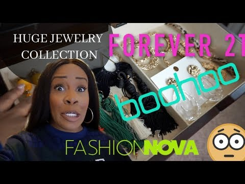 MY HUGE JEWELRY COLLECTION FROM BOOHOO, FASHION NOVA AND FOREVER 21