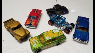 "2018 Hot Wheels Mystery Models ""Wave"" 3 (With ANOTHER Datsun Wagon)"