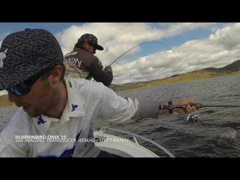 Cania Dam Bass And Saratoga Fishing Video