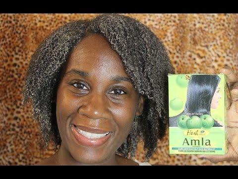 Natural Hair: Amla Powder Hair Mask Treatment - YouTube