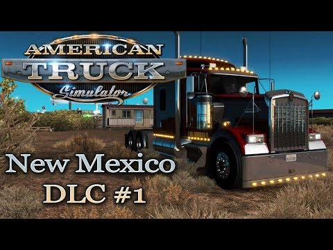 ATS #35 Road to New Mexico DLC #1 American Truck Simulator Deutsch Gameplay German