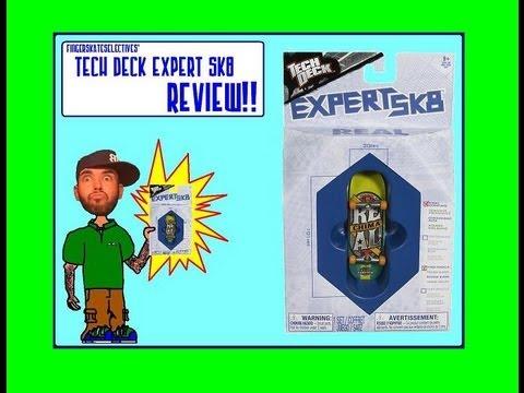 Tech Deck Expert Sk8 REVIEW!!