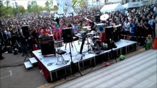 odaiba 2 2012/04/29 diver city tokyo guest vocal risa rock.