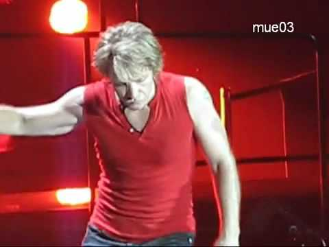 Bon Jovi Something to Believe in LIVE -- Best Performance