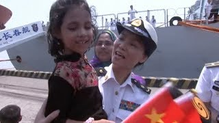 Chinese Naval Fleet Starts Friendly Visit to Bangladesh