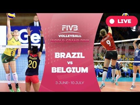 Brazil v Belgium - Group 1: 2016 FIVB Volleyball World Grand Prix