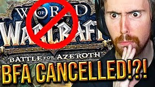 Asmongold Reacts To The Future Of WoW BFA 8 3 Cancelled Patch 9 0 Classic WoW Bans Bellular