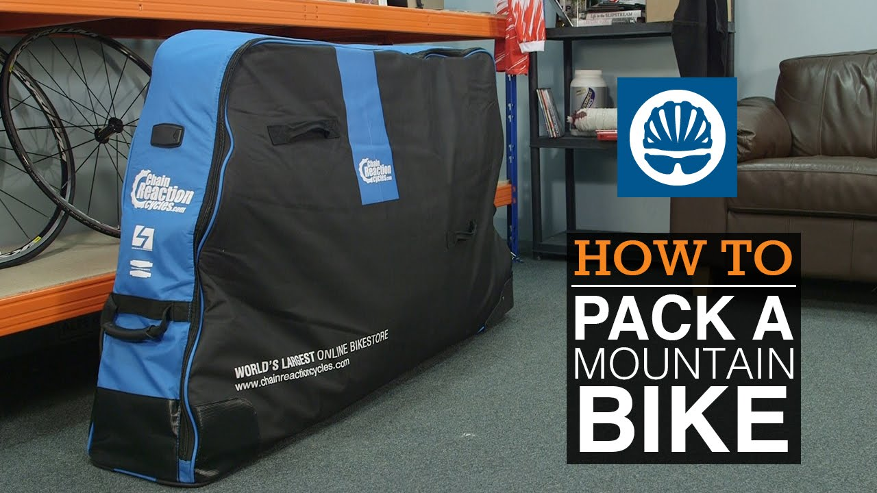 How To Pack A Mountain Bike Youtube