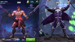 mobile legend strike of kings side by side hero comparison