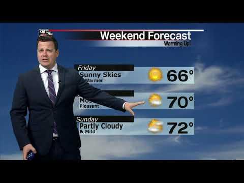 Daniel's weather forecast part 1 02-27-20 6pm