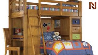 Pulaski Bearrific Youth Complete Loft Bed 6331+84+85+86+87+88