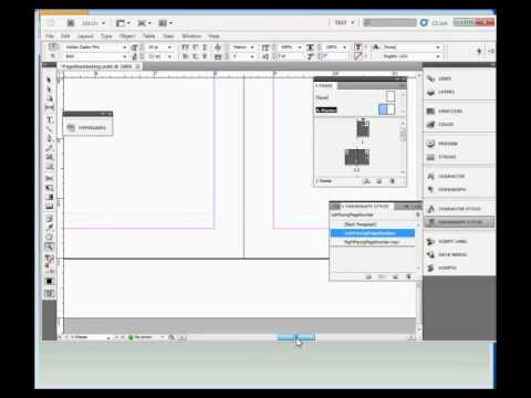 InDesign Training : How to Add Page Numbering in Adobe ...