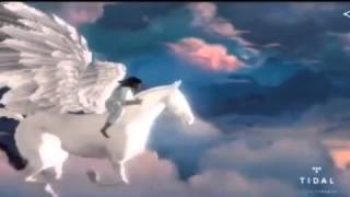 West immortalises late mother Donda as she rides to heaven on a horse