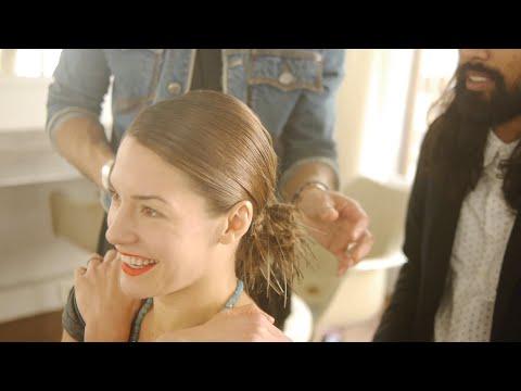 Inside the Salon: Magic Chignon with Natasha Andrews