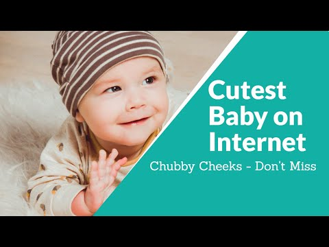 Cute Baby Chubby Cheeks
