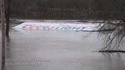 New Athens, IL Kaskaskia River Flooding