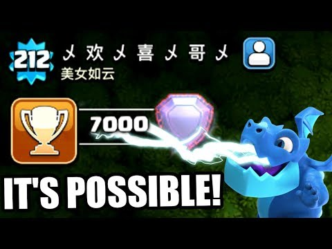 HOW IS THIS EVEN POSSIBLE IN CLASH OF CLANS!!