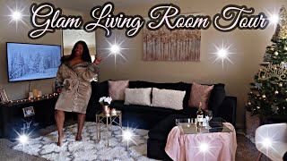 SMALL APARTMENT TOUR | SMALL & COZY RENTAL | + I BOUGHT A SECTIONAL FROM AMAZON