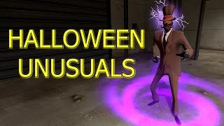 TF2: New Scream Fortress Halloween Unusuals Taunt and Hat Effects Showcase 2016 >Team Fortress 2<