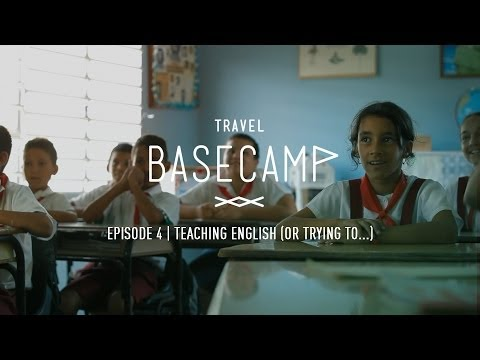 Teaching English (or trying to...) - Travel Basecamp - CUBA - Ep 4/6