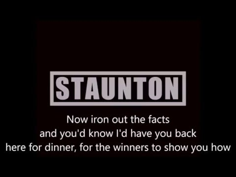 STAUNTON - Into The Black with lyrics