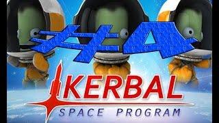 Kerbal Space Program 0.24 - Серия 4 - 2 Второй спутник планеты Kerbal Thumbnail