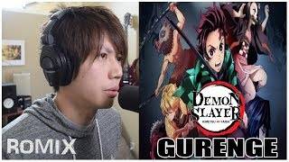 Gambar cover Gurenge - Kimetsu no Yaiba OP (ROMIX Cover)