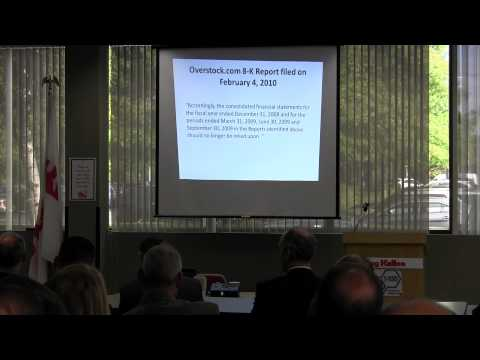 9-19-12 Detecting Accounting Fraud Part II