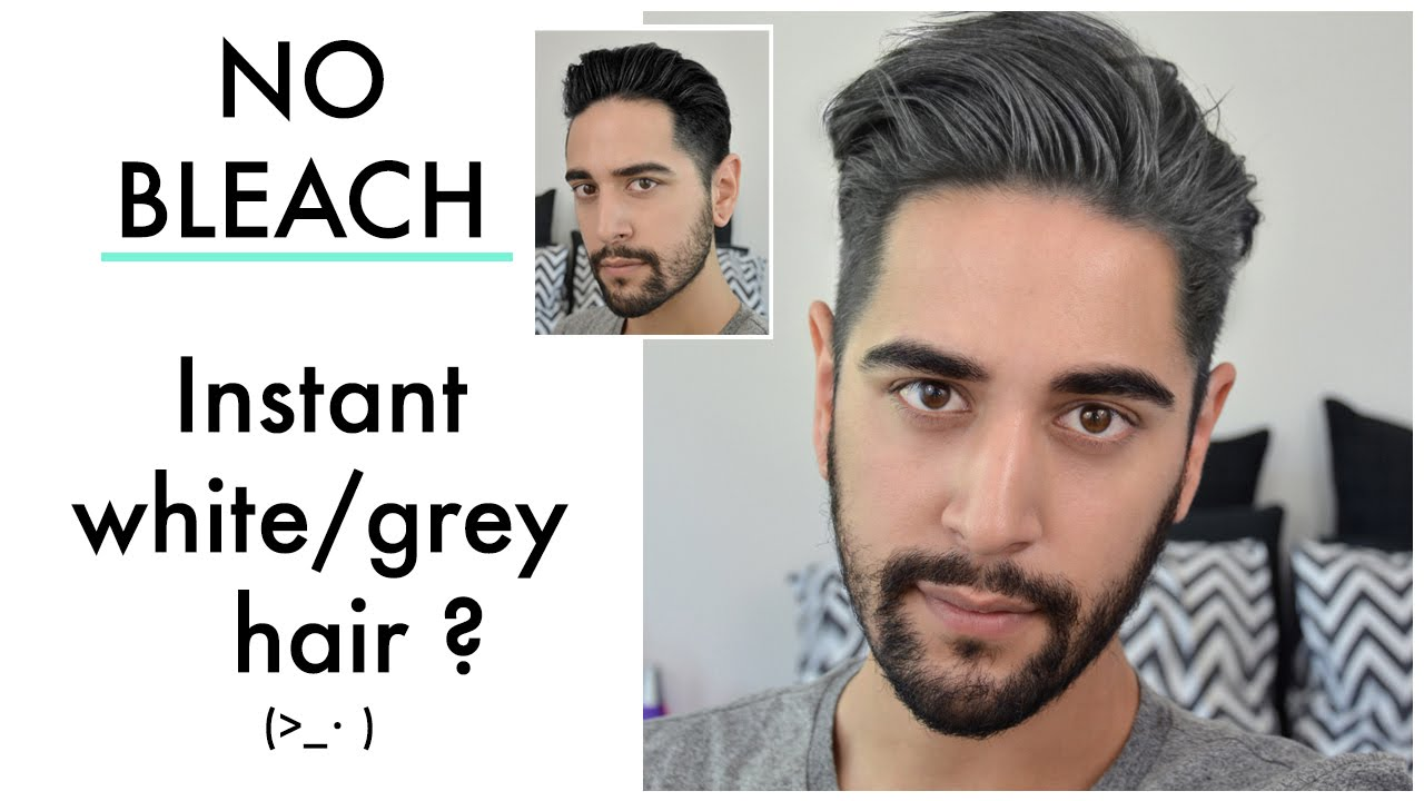 Instant Grey/ White Hair. No Bleach?! (Coloured wax product review ...