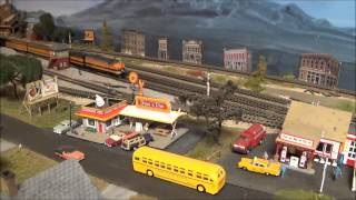 Beautiful N Scale Layout My Friend Mike C.