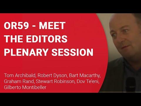 OR59 Meet the Editors