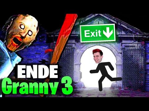 Granny ENTKOMMEN - Das ENDE von Granny 3 | Sev