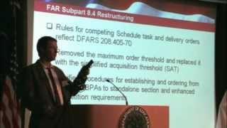 GSA Training: New Ordering Procedures for GSA Schedules (1 of 5)