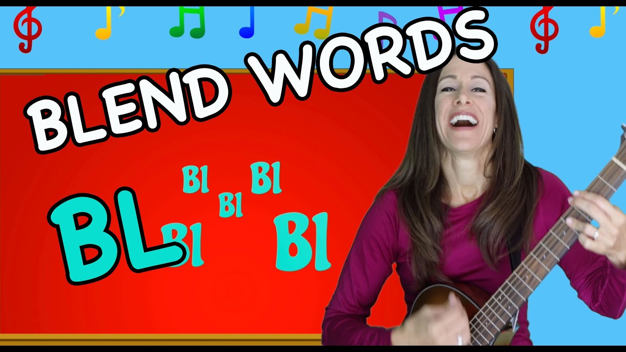 Blends Songs | Letter Blends BL | Consonant Song for Children by Patty Shukla