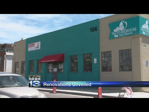 New Mexico food pantry celebrates renovations, thanks volunteers
